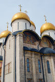 Dormition church. Moscow Kremlin. UNESCO World Heritage Site. Stock Images