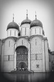 Dormition church. Moscow Kremlin. UNESCO World Heritage Site. Stock Photo