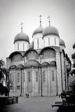 Dormition church. Moscow Kremlin. UNESCO World Heritage Site. Royalty Free Stock Photos