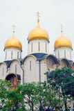 Dormition church. Moscow Kremlin. UNESCO World Heritage Site. Royalty Free Stock Photo