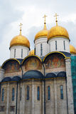 Dormition church. Moscow Kremlin. UNESCO World Heritage Site. Royalty Free Stock Photos