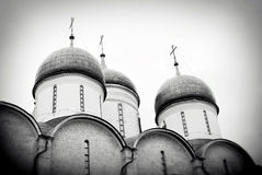 Dormition church. Moscow Kremlin. UNESCO World Heritage Site. Royalty Free Stock Photography
