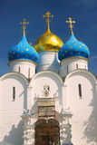 Dormition church in Trinity Sergius Lavra, Sergiev Posad, Russia. UNESCO World Herit Stock Images