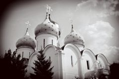 Dormition church. Trinity Sergius Lavra, Sergiev Posad, Russia. UNESCO World Herit Stock Photography