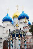 Dormition church in Trinity Sergius Lavra Stock Image