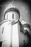 Dormition church in Trinity Sergius Lavra, Sergiev Posad, Russia. Royalty Free Stock Photo