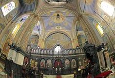 Dormition de la madre de la catedral de dios, Varna - Bulgaria Foto de archivo libre de regalías