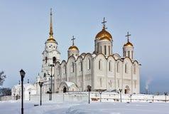 Dormition domkyrka, Vladimir, Ryssland Royaltyfria Foton