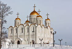Dormition domkyrka, Vladimir, Ryssland Royaltyfri Foto