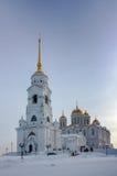 Dormition domkyrka, Vladimir, Ryssland Arkivfoton