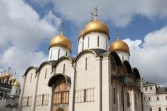 Dormition katedra w Kremlin, moscow Rosja Obrazy Royalty Free