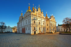 Dormition Kathedrale. Lavra. Kiew. Ukraine. stockfotos