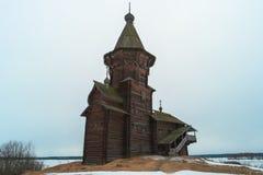 Dormition kyrka av Kondopoga Royaltyfria Foton