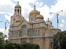 Dormition of the Mother of God Cathedral, Varna -  Stock Images