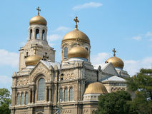 Dormition of the Theotokos Cathedral Stock Photography
