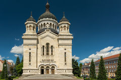 The Dormition of the Theotokos Cathedral Stock Image