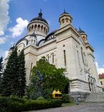 Dormition of the Theotokos Cathedral, Cluj-Napoca stock photography