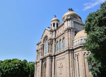 Dormition of the Theotokos Cathedral in Varna, Bulgaria Stock Photography