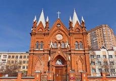 Dormition of the Theotokos church. Kursk Royalty Free Stock Photo