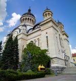 Dormition van de Theotokos-Kathedraal, cluj-Napoca stock fotografie