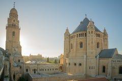 Dormitions-Abtei, in Jerusalem Stockbild