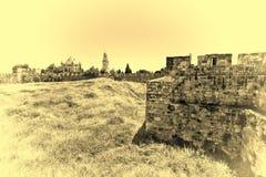 Dormitions-Abtei in Jerusalem Stockfoto