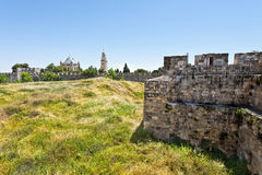 Dormitions-Abtei in Jerusalem Lizenzfreies Stockbild