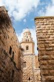 Dormitions-Abteikirche Alte Stadt jerusalem israel Stockfotos