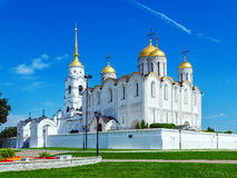 Dormitions-Kathedrale (1160) in Vladimir, Russland Stockfoto