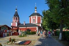 Dormitions-Kirche in der historischen Mitte von Suzdal, Russland Stockfotografie