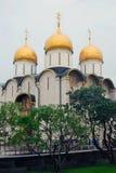 Dormitions kyrka kremlin moscow Lokal för Unesco-världsarv Royaltyfria Foton