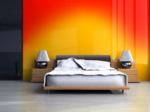 Dormitorio stock de ilustración