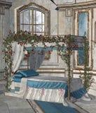 Dormitorio 2 del palacio libre illustration