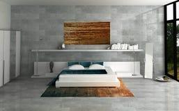 Dormitorio ilustración del vector