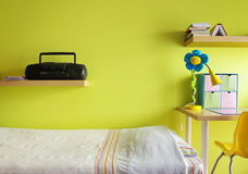 Dormitorio adolescente Imagen de archivo