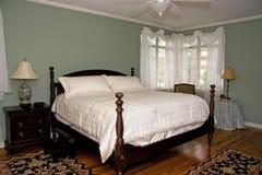 Dormitorio bonito Foto de archivo libre de regalías
