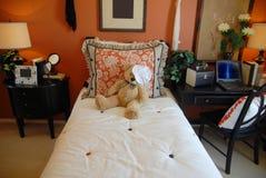 Dormitorio bonito de Womans Fotografía de archivo