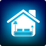 Dormitorio casero libre illustration