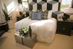 Dormitorio casero de lujo Fotografía de archivo libre de regalías