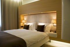 Dormitorio con estilo Foto de archivo libre de regalías