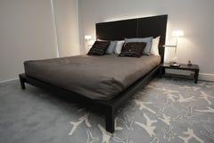 Dormitorio con estilo Imagen de archivo libre de regalías