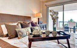 Dormitorio con estilo fotografía de archivo