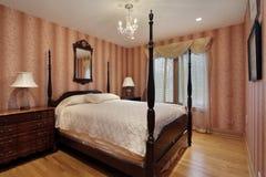 Dormitorio de huésped Foto de archivo
