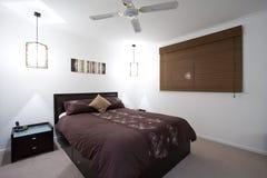Dormitorio de la casa Foto de archivo