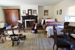 Dormitorio de la casa de McLean Fotografía de archivo libre de regalías