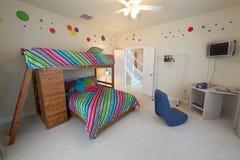 Dormitorio de la cucheta Fotos de archivo