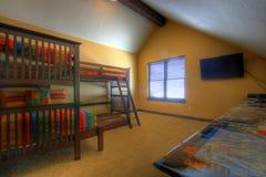 Dormitorio de los cabritos Fotografía de archivo