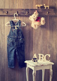 Dormitorio de los niños pequeños imagen de archivo libre de regalías