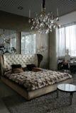 Dormitorio de lujo imágenes de archivo libres de regalías