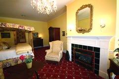 Dormitorio de lujo Fotografía de archivo
